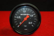Porsche 911 930 965 Turbo RARE Original Dated VDO Andial Boost 2.0 Bar Gauge