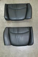 Porsche 911 993 Original Rear Seats Black Leather Pair (2) Backrest