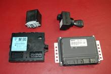 Porsche 987 997 GT3 Ignition Set - Immobilizer, ECU, Locking /Column Module