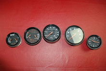 Porsche 911 964 993 Factory Gauge Set Speedometer Tach Fuel Oil Level OEM