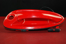 Porsche 911 997 Boxster Left Outer Door Handle Red with Sensor 99753706100 84A