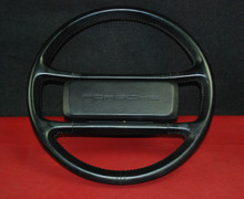 Porsche 911 930 964 Carrera Steering Wheel 4 Spoke Black Leather 91134708408