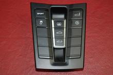 Porsche 911 991 Turbo Sport Exhaust Center Console Switch Controls 99161365703
