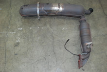 Porsche 911 930 Carrera Exhaust System Muffler Catalytic Converter 93011104300
