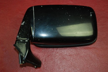 Porsche 911 Original Left Power Mirror with Housing Black OEM 91173102303