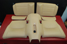 Porsche 911 991 GT3 Carrera Rear Seat 5-Pcs Set Tan Leather 2E0 Genuine OEM