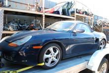 1999 Porsche 986 Boxster Blue