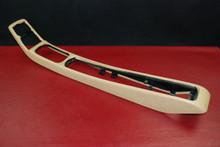 Porsche 911 964 993 Center Console Tan Vinyl Leatherette 964.552.517.00 OEM