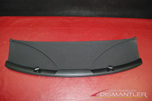Porsche 987 Cayman S Black Vision Rear Divider Trim Panel 987.555.341.00.A24 OEM