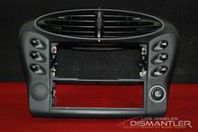 Porsche 911 996 Center AC Dash Air Vent Stero Switches Trim Bezel Housing Cover