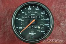 Porsche 911 993 C4 VDO 180MPH Speedo Speedometer Gray Face Gauge OEM 99364154200