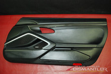 Porsche 911 991 GT3 Right Passenger Door Panel Trim Black Leather Carbon Fiber