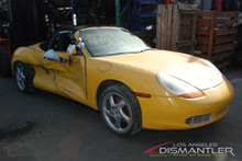 2000 986 Boxster Yellow