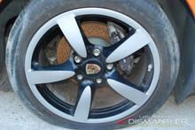 "Porsche 987 987c Boxster Cayman S One Rear Wheel 18""Rim 9xET43 Factory OEM"