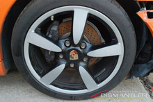 "Porsche 987 987c Boxster Cayman S One Front Wheel 18""Rim 8xET57 Factory OEM"