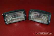 Porsche 911 930 Carrera Right Left Driver Passenger Fog Lights Bosch OEM Lamps