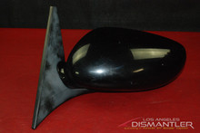 Porsche 911 996 986 Boxster Left Side Driver Mirror Black 996.731.019.04 OEM