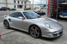 911 997 2008 Turbo Coupe Silver