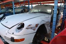 1995 White 993 Carrera Cabriolet