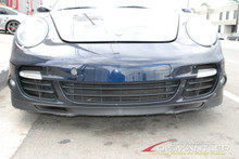 Genuine Porsche 911 997 Turbo Factory Front Bumper Cover Assembly Blue OEM
