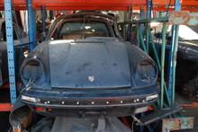 Porsche 911 Black with Targa Top
