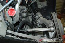 Porsche 911 991 C4S Left Front Suspension Kit -Arms, Strut, Bearing, Axle, Pump