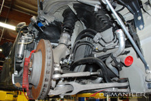 Porsche 911 991 C4S Right Front Suspension Kit -Arms, Strut, Bearing, Axle, Pump