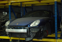 2005 Blue 987 Boxster S