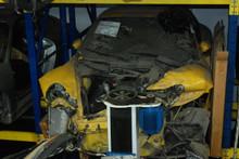 2003 Yellow 996 Carrera Coupe