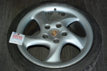 "Porsche 911 993 C4S Solid Spoke Turbo Wheel 9x18 ET52 99336213801 18"" Rim"
