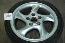 "Porsche 911 993 Turbo Twist Hallow Spoke Wheel 7.5x18 ET50 99336213405 18"" Rim"