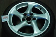 "Porsche 996 Turbo Twist Hallow Spoke Wheel 8x18 ET50 99636213604 18"" Rim"