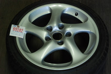 "Porsche 911 996 Turbo Twist Hallow Spoke Wheel   8x18 ET50 99636213604  18"" Rim"