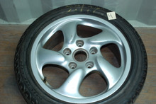 "Porsche 986 Boxster S Set of 4 Wheels 7x17 ET55 8.5x17 ET50 98636212605 98636212400 17"" Rims"