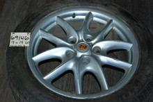 "Porsche Set of 4 Cayenne Wheels 9x19 ET60 7L5601025B 19"" Rims"