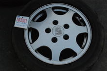 "Porsche 964 Carrera  Set of (4) Wheels 16"" Rims 6x16 ET52.3  8x16 ET52.3 96436211201 96436211601"