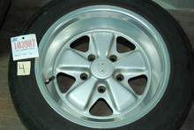 "Porsche 911 Fuchs Set of (4) Wheels 8x16 ET10 7x16  911362117  911361020 16"" Rims"