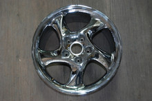 "Porsche 911 993 Chrome Turbo Twist  Wheel 10x18 ET65 99336214004 18"" Rim"