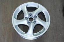 """Porsche 996 911 Turbo Twist Wheel Solid Spoke 8x18 ET50  99636213601 18"""" Rim OEM"""