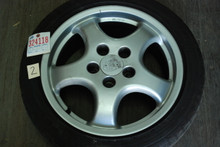 "Set of (4) 911 Aftermarket Wheels 7.5x17 ET52   9x17 ET47  17"" Rims"