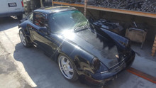 Porsche 911 964 Coupe 4 Manual Chassis Roller Project Shell Salvage Widebody
