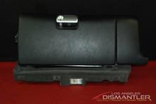 Porsche 911 997 Carrera Black Leather Glove Box Glovebox Compartment Dash OEM