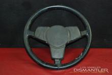 Porsche 911 912 930 Classic 3 Spoke Steering Wheel Black Lenkrad OEM
