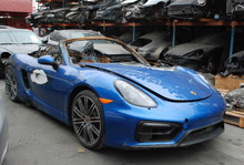 2015 Blue Boxster GTS 981