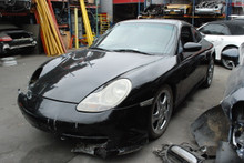1999 Black 911 996 Carrera Coupe