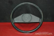 Genuine Porsche 924 Classic 2 Spoke Steering Wheel Column Factory VW