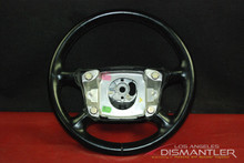 Porsche 911 964 993 Carrera Black 4 Spoke Steering Wheel 96434780452 OEM