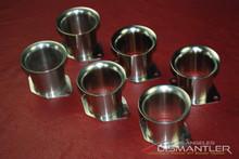 65-76 Porsche 911 914 Set of 6 Intake Trumpets NOS PCG.108.322.01 OEM