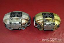 Factory Porsche 930 911 76-77 Front Alloy Left & Right Brake Calipers ATE Brakes