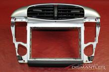 Porsche 911 996 Center AC Dash Air Vent Stero Trim Bezel Housing Cover Panel OEM